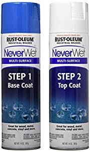 Rust-Oleum NeverWet : Kit de traitement déperlant multi-surfaces en spray
